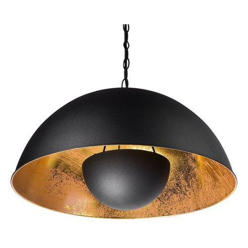 Lampa wisząca czarna THAMES II, kolor Czarny,