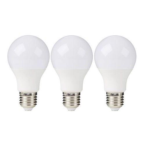 Żarówka LED Diall A60 E27 11 W 1060 lm mleczna barwa neutralna 3 szt.