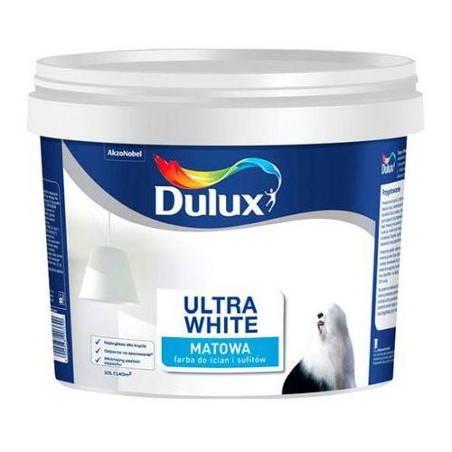 Farba Dulux Ultra White Promo 10 l, kolor biały