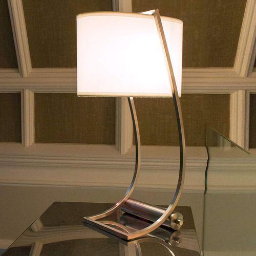 Lampa stołowa LEX FE/LEX TL BS - Elstead Lighting - Rabat w koszyku