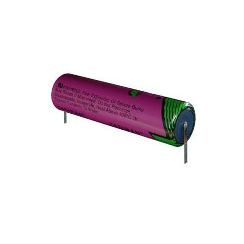 Bateria litowa SL-2790 SL-790 Tadiran 35.0Ah 3.6V DD 32.9x123.5mm z blaszkami lutowniczymi do zegarów cyfrowych