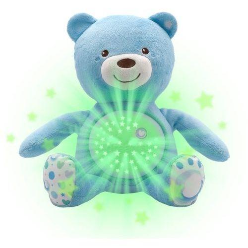 Chicco miś z projektorem gwiazdek niebieski
