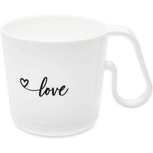 Kubek Maxx biały z napisem Love (4002942457047)