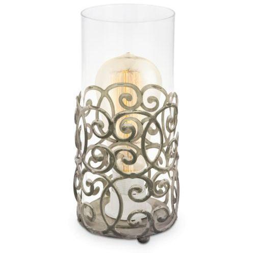 Lampa stołowa vintage cardigan patyna brązowa, 49274 marki Eglo