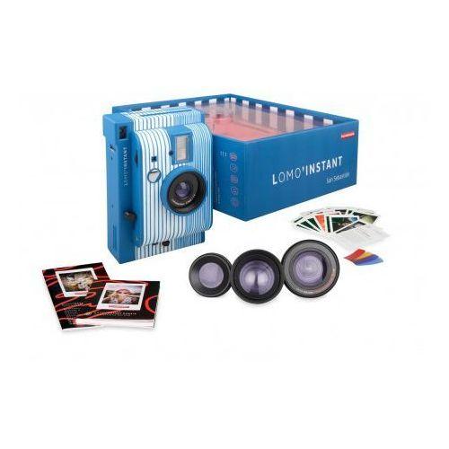 aparat lomo'instant san sebastian typu polaroid na wkłady instax mini marki Lomography