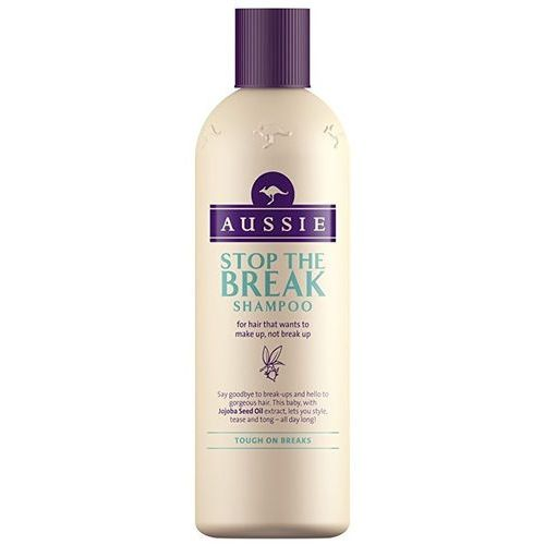 Aussie stop the break szampon przeciw łamliwości włosów (with jojoba seed oil extract) 300 ml