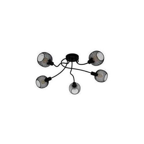 wrington 1 43374 plafon lampa sufitowa 5x40w e14 czarny marki Eglo