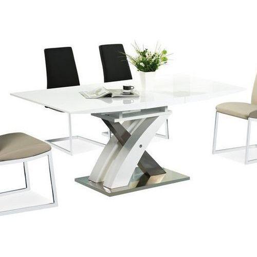 Stół rozkładany raul biały marki Signal