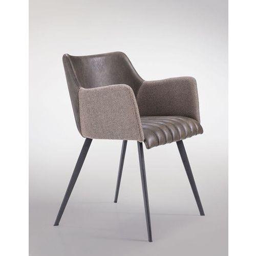 Krzesło Jeff M, kolor brązowy