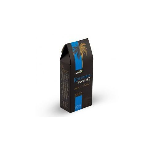 Kawa kolumbia excelso box ziarnista marki Tommy cafe