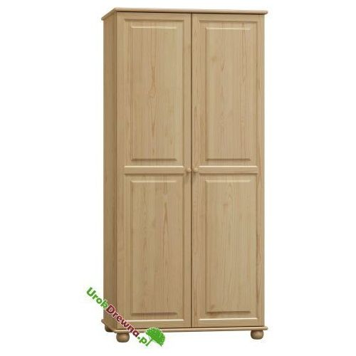 Szafa sosnowa 2 drzwiowa z podziałem 80 (nr kat. 66 ) marki Urokdrewna