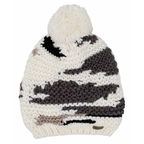 Rip curl Czapka zimowa - chile beanie white smoke (9133) rozmiar: os