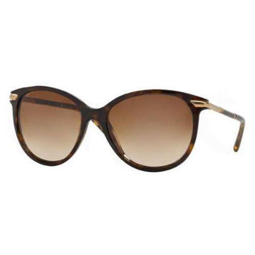 Okulary Słoneczne Burberry BE4186F Asian Fit 300213, kolor żółty