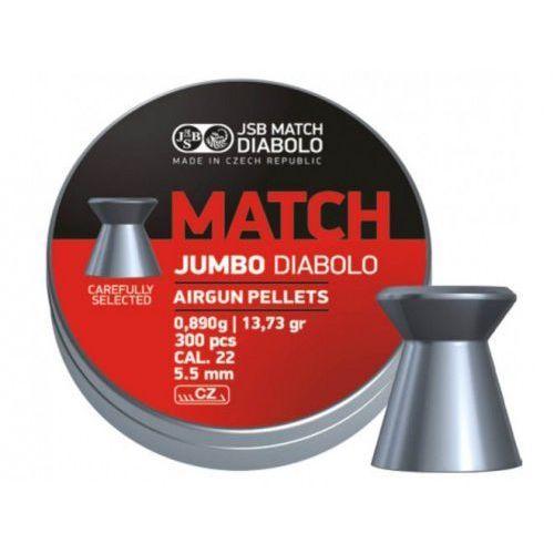 Śrut 5,5 mm Diabolo Match Jumbo płaski 300 szt JSB - sprawdź w wybranym sklepie
