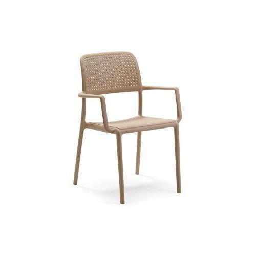 Nardi Krzesło bora z podłokietnikami piaskowe