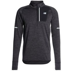 New Balance HEAT HALF ZIP Bluza mottled dark grey (0190737277865)