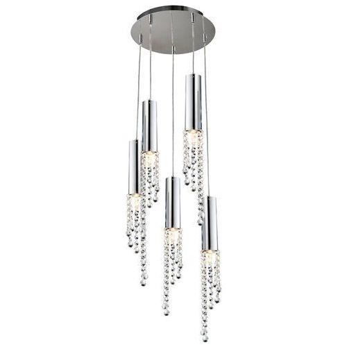 Candellux Lampa wisząca duero 35-26088 led chrom + darmowy transport! (5906714826088)
