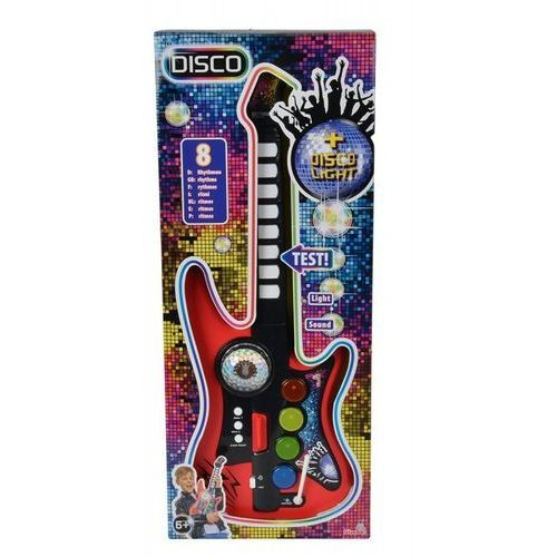 My music world disco gitara - toys. darmowa dostawa do kiosku ruchu od 24,99zł marki Simba