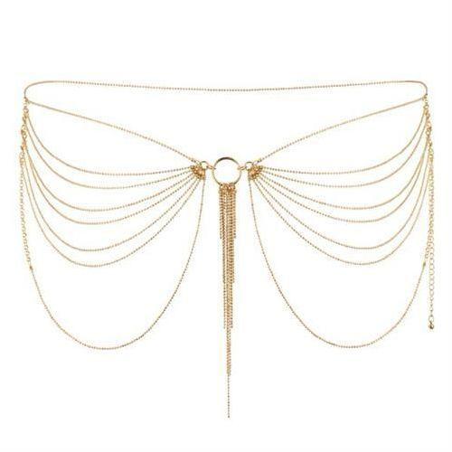 Łańcuszek na biodra bijoux indiscrets magnifique (złoty) marki Bijoux indiscrets (sp)
