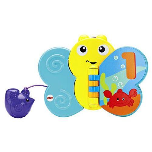 Fisher price Zabawka  kąpielowy motyl książeczka + darmowy transport!