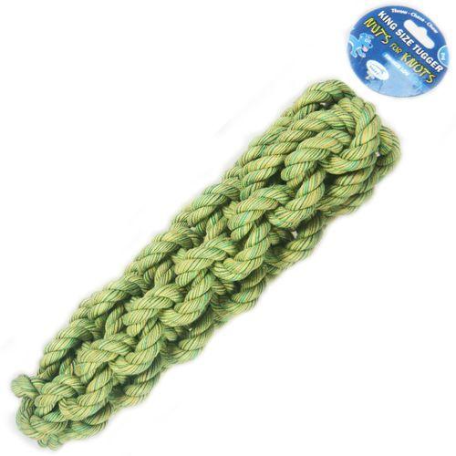 Pleciony gryzak dla psa z mocnego sznura log marki Nuts for knots