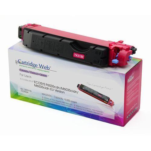 Toner cw-k5150mn magenta do drukarek kyocera (zamiennik kyocera tk-5150m) [10k] marki Cartridge web