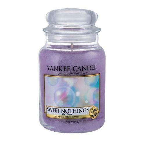 Świeca YANKEE słoik duży Sweet Nothings - YSDSN (5038581033228)