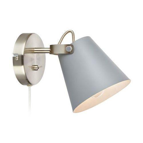 Kinkiet LAMPA ścienna TRIBE 107396 Markslojd regulowana OPRAWA metalowa szara (7330024578340)