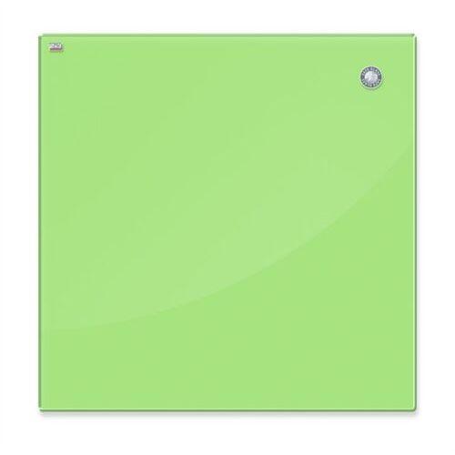 Tablica szklana 2x3 magnet. 80x40cm - j.zielona