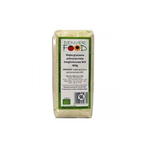 Denver Food Mąka gryczana pełnoziarnista bezglutenowa Bio 400g