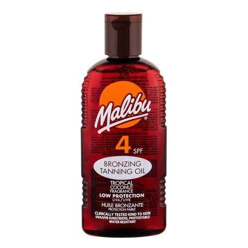 Malibu Bronzing Tanning Oil SPF4 preparat do opalania ciała 200 ml dla kobiet (5025135117985)