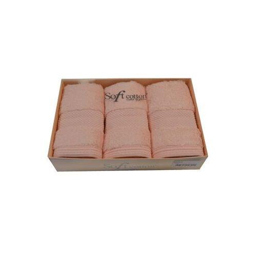 Zestaw podarunkowy małych ręczników DELUXE, 3 szt Różowy, 8190_Set3