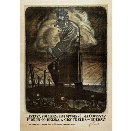 Plakat A3 - Józef Piłsudski - piorun A3-GPlak1920-029