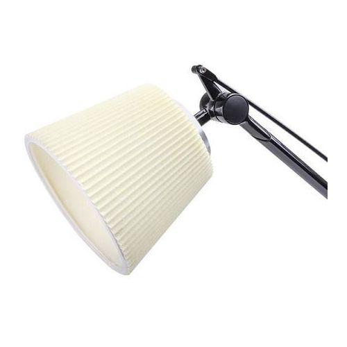 Kinkiet RAYON ARM WALL czarny - LED, klosz z tkaniny, 720W.BL.FABRIC (12231290)