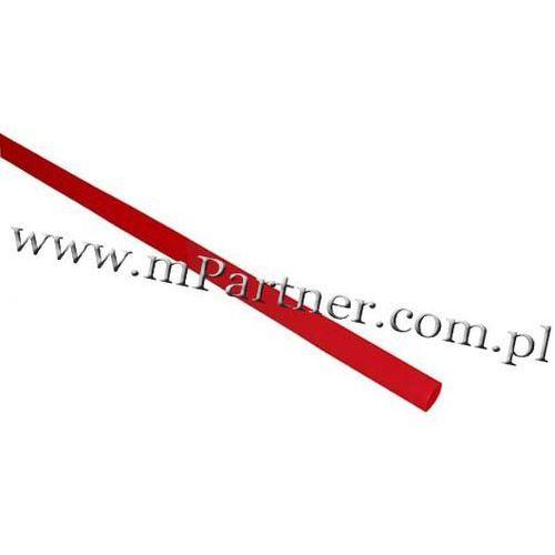 Rura termokurczliwa elastyczna v20-hft 1,5/0,8 czerwona marki Mpartner