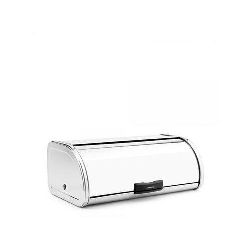 Chlebak wypukły automatyczny 17,3x26,8x44,6cm Brabantia 'Touch Bin®' stalowy