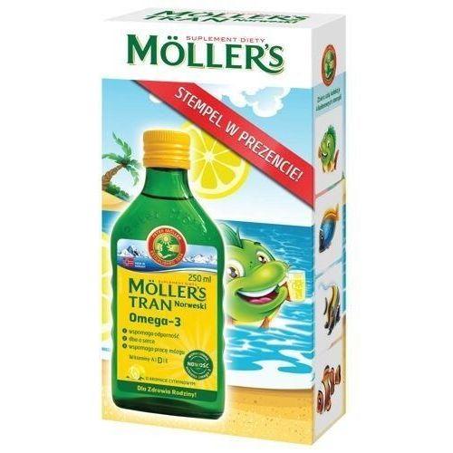 Tran Moller's cytrynowy 250ml + kolorowy stempelek