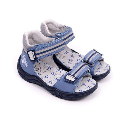 Sandały dziecięce Bartek 61568-307 niebieski 19 niebieski, 61568-307 niebieski 19