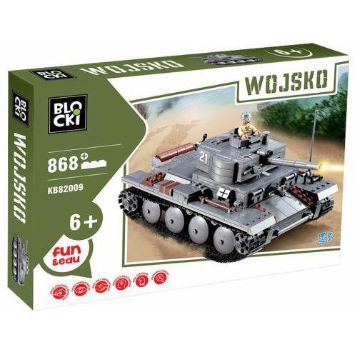Klocki Blocki Wojsko Czołg 868 elementów