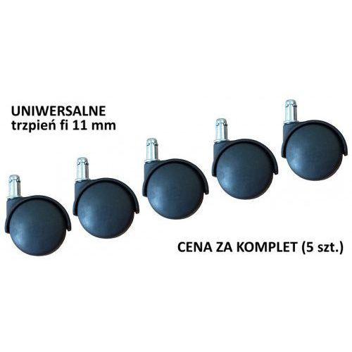 Uniwersalne kółka do krzesła lub fotela - trzpień o śr. 11 mm, K/T/11
