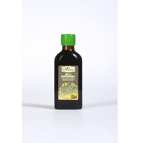 Ol'vita Olej koperkowy tłoczony na zimno, nieoczyszczony 100ml - olvita