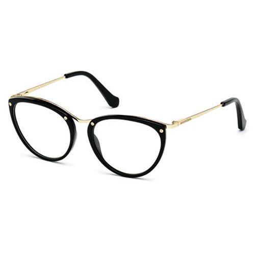Okulary korekcyjne ba5046 001 marki Balenciaga