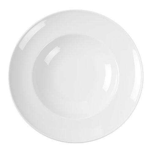 Talerz do makaronu porcelanowy bianco marki Fine dine