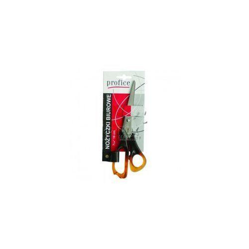 Nożyczki bursztynowe biurowe PROFICE 19 cm, P412