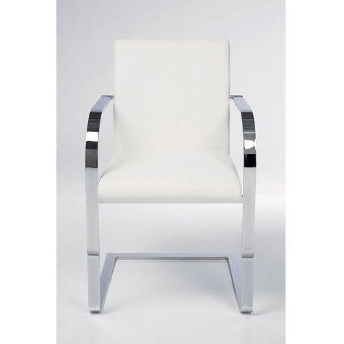Kare design :: krzesło candodo białe - biały ||biały ||srebrny