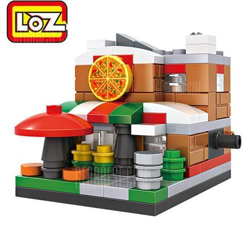 Gearbest Loz street view architecture abs cartoon building brick, kategoria: puzzle