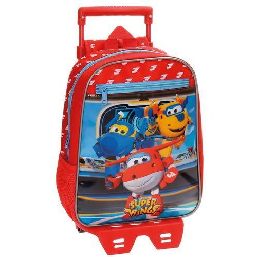 Plecak z wózkiem 28 cm Super Wings