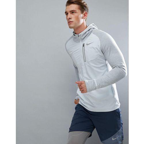 Nike Running Therma Spehere Element Hoodie In Grey 859222-043 - Grey, 1 rozmiar
