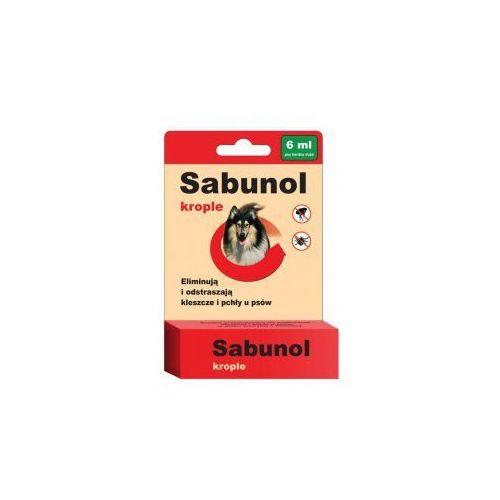 Sabunol krople przeciwko pchłom i kleszczom 6 ml dla psów powyżej 40 kg marki Laboratorium dermapharm