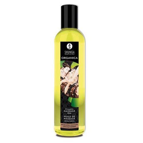 Olejek do masażu organiczny -  massage oil organic chocolat czekolada marki Shunga